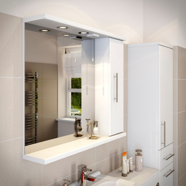 White Colored, Vibrant And Fabulous Bathrooms Are The Excitement Within The  Latest Bathroom Design Craze. Bathrooms Splashed With Strongly Colored  Colored ...